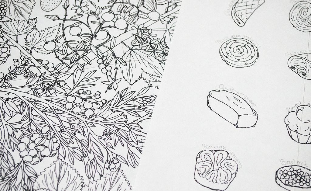 Work In Progress: Sketches of Food