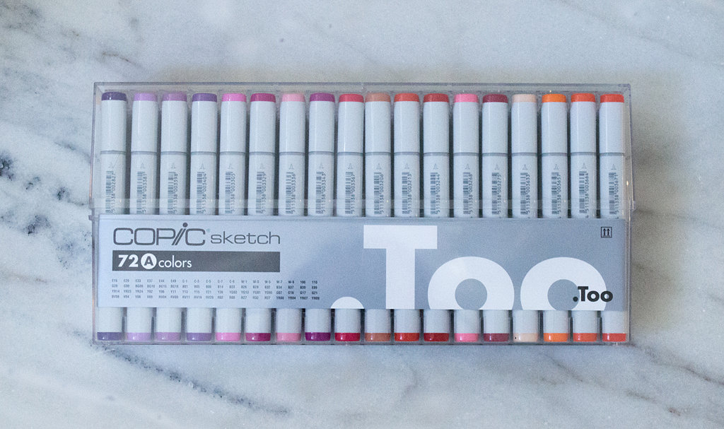 Copic Sketch Markers - Set 72A